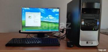 Bakı şəhərində Masaüstü kompüter. 17-lik Samsung Monitor, Mouse