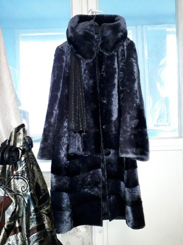 Шубы в Кыргызстан: ШОК-ЦЕНА!!! ❄Ш❄У❄Б❄А❄ Шикарная темно-серая шуба, очень теплая