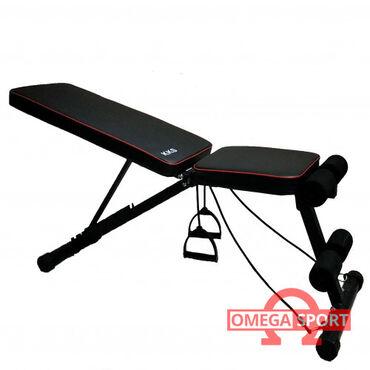 Многофункциональная скамья kks   характеристики:  размеры тренажера: 1