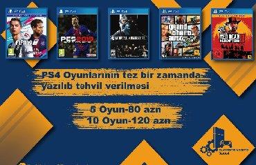 Bakı şəhərində Playstation 4 oyunlarının yazılması