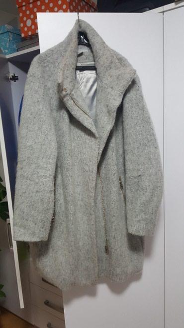 H&M kaput. svetlo sivo. velicina 44 ali je veci model. - Sremska Mitrovica