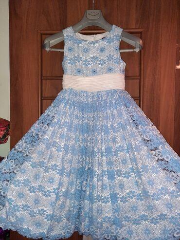 Детская одежда и обувь - Кыргызстан: Продаю платье на девочку 8-11 лет. Отличное состояние. Одевали 1 раз