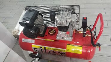 100 ltlik kompressor 2 silindirli,tek sexsiyyet vesiqesi ile