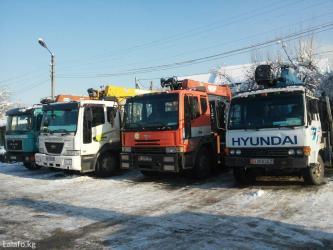 Манипуляторы 2,5,7,10,12 тонники+автовышки в Бишкек