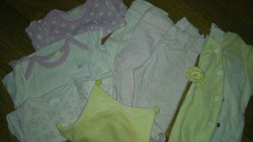 Paket garderobice za devojcice,vel 62-68cm, benetton,hm...tri bodica - Belgrade