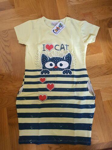 Haljina-leprsava - Srbija: Nove sa etiketom, haljina veličina 10, prva majica veličina 9, druga