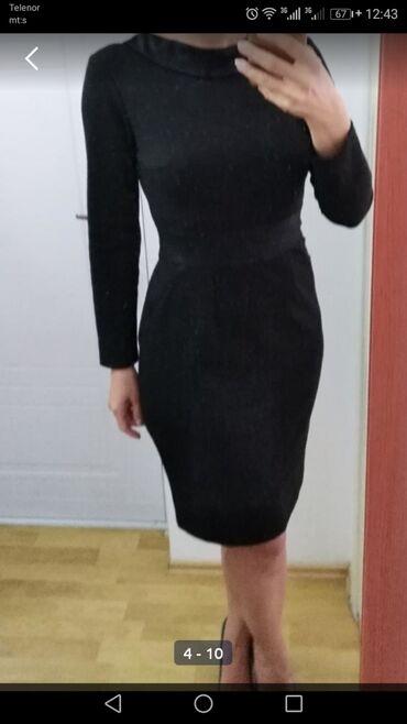 Svaku priliku haljina - Srbija: Haljina od punijeg materijala sa puno elastina, vel 40, u odličnom