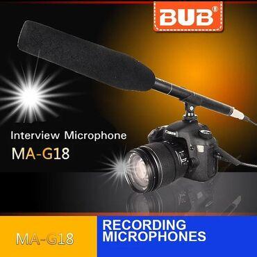 Mikrafon video kamera ucun