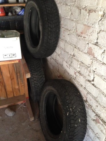 Зимняя резина 3шт  215/70 R16  в Бишкек