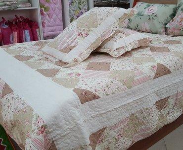 Покрывало для кровати, ткань - 100% хлопок в Бишкек