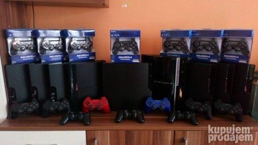 335 oglasa   VIDEO IGRE I KONZOLE: Prodajem Sony Playstation 3 cipovane i modovane konzole, cene se kreću