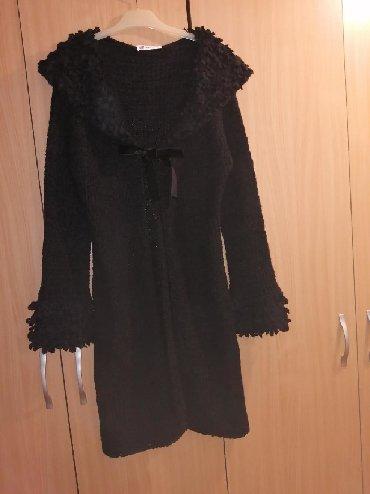 Ponco-vuna-akril - Srbija: Nov zimski kardigan, odgovara velicini S/M. Materijal je vuna i akril