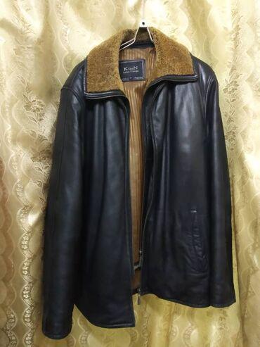alfa romeo 90 в Кыргызстан: Куртка из натуральной кожи, подклад и воротник из натурального