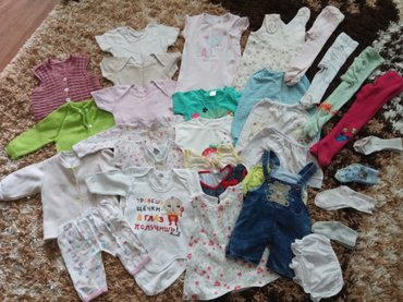 Продаю детские вещи на 6-12 месяцев. В хорошем состоянии, есть в Бишкек