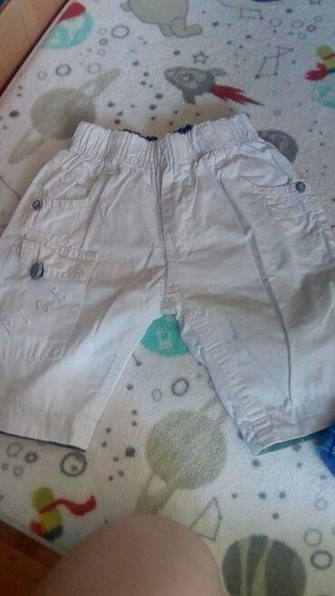 Dečije Farmerke i Pantalone | Krusevac: Bermude za dečaka veličina 4, oba para 700 din