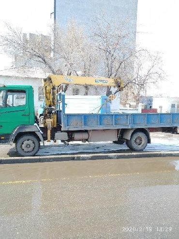 Манипулятор купить бу - Кыргызстан: Услуги кран манипулятора. По Бишкеку и регионам. Грузоподъёмность