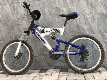велосипеды для малышей в Кыргызстан: Продаю велосипед 7 скорость  Колесо: 20х2.35(62-306)