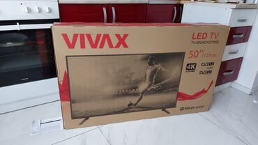 Tv led - Srbija: Vivax 50 inca 4K ultrahd novo garancija fiskalniNov tv 50 inca 4K