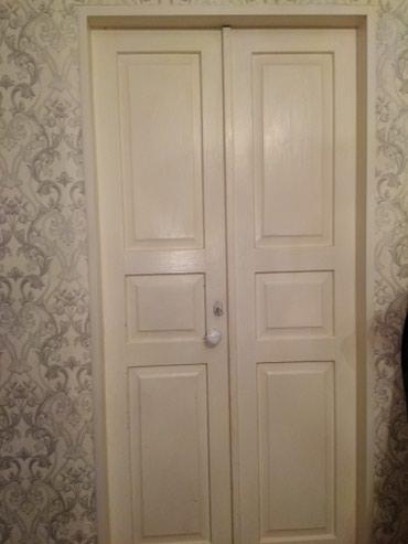 Двери двухстворчатые) Деревянные! в Бишкек