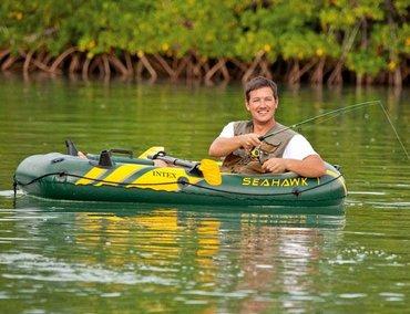 Лодка. Надувная лодка надувная Intex 68345 купить в бишкеке.Intex