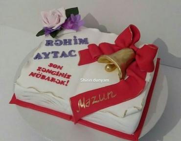 Bakı şəhərində Tort sekilleri veregleyin