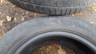 летние шины 21560 r16 в Кыргызстан: Резина летняя два колеса. 225/55 R16. Цена 1000с за 2 колеса