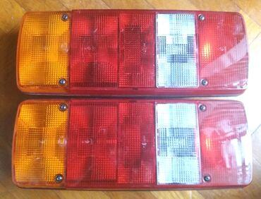 Lampe - Srbija: Dve štop lampe Hella za kamionMade in Finland.Korišćene ali dobro