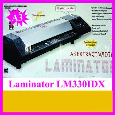 Bakı şəhərində Laminator lm330idx/ avadanliq yenidir. Poliqrafiya ucun bashqa