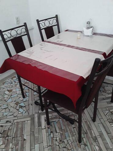 8 комплектов по 7000тыс каждый комплект (стол+4 стула)