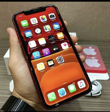 Apple Iphone - Bakı: Yeni IPhone 11 128 GB Qara
