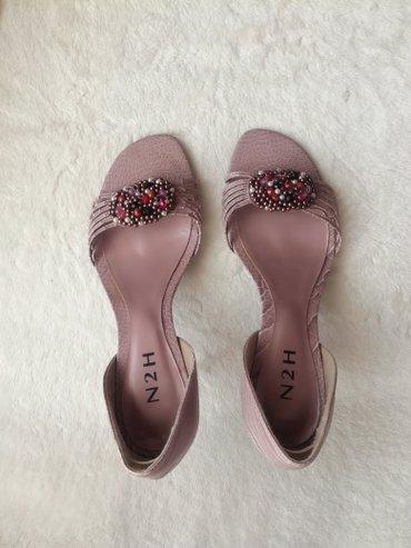 Carape-sa-prstima - Srbija: Nove cipele sa otvorenim prstima.Boja prljavo roze.Veličina 37,dužina