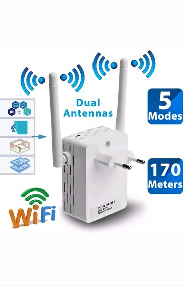Bakı şəhərində 300 Mb WiFi Gücləndiricisi satılır..