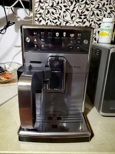 завод кирпичный в Кыргызстан: Продаю автоматическую кофемашину saeco picobaristo deluxe sm5572/10