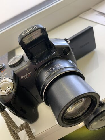 фотоаппарат сони в Кыргызстан: Продам фотоаппарат Canon PowerShot S3 IS в очень хорошем состоянии. Ра