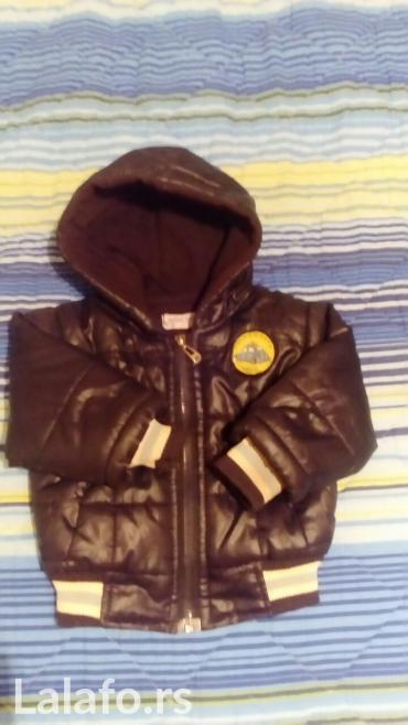 Dečja jaknica, teget boje, veličina 1,obučena svega 2-3 puta,nema - Vrnjacka Banja