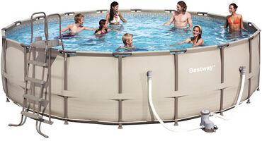 Nova, znatno poboljšana serija bazena. Bazeni Bestway Steel Pro™ Frame