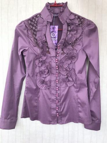 Женская одежда в Чон Сары-Ой: Блузка  Новая.  Турция.  38 размер  Цена: 1000 сом