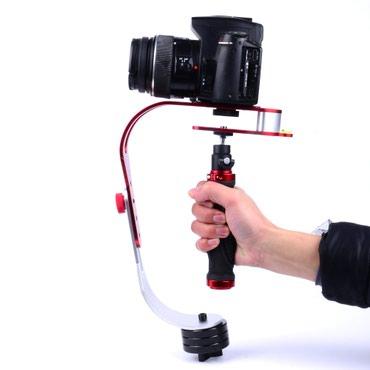 Bakı şəhərində Stabilizator kamera Canon Nikon. Əl əsməsinə qarşı qurğu.