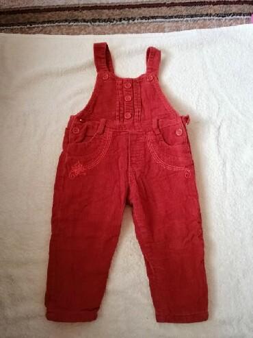 Farmerke na tregere - Srbija: Termo somotske pantalone na tregere. Imaju podesavanje duzine tregera