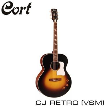 Гитара: CORT CJ RETRO VSMАкустические гитары серии CJ имеют