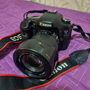 d600 в Кыргызстан: Не спеша продаю профессиональный зеркальный Фотоаппарат Canon 7D
