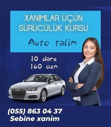 azerbaijan car price - Azərbaycan: Xanlmlar üçün avto təlim kursu,telimci xanlm müəllimədir