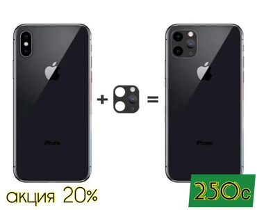 10381 объявлений: Накладка на камеру под 11pro/max  Новые! В упаковках! Отличного качест