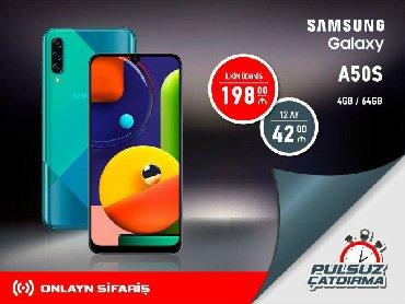 Yeni Samsung A50 64 GB Göy