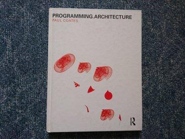 Manchester united kacket - Srbija: Naslov: programming. Architecture autor(i): paul coates izdavač