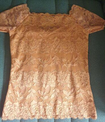 Amisu majica, nova, nenošena, XS veličina, čipka sa postavom, ima malo