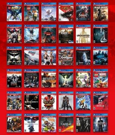Playstation 4 üçün istədiyiniz bütün oyunları rəsmi olaraq Playstation