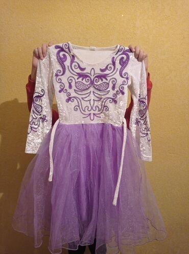 Продаю платье. подойдёт для 7-8лет. Одели только раз. тел