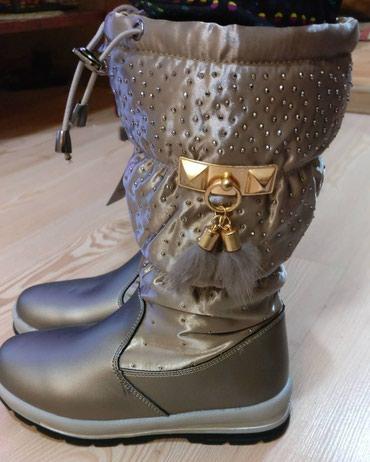 obuvzimnie 38 razmer в Кыргызстан: Аляска обувь для девочек новые сапоги Аляска размеры 35 - 38 цена