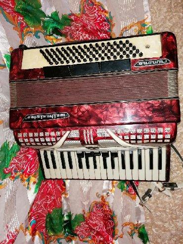 Muzički instrumenti - Veliko Gradiste: Harmonika weltmaister ocuvana 80basova